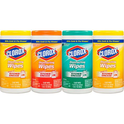 Detox Value Pack 300 Guaranteed by Clorox Disinfecting Wipes Value Pack Citrus Blend Fresh