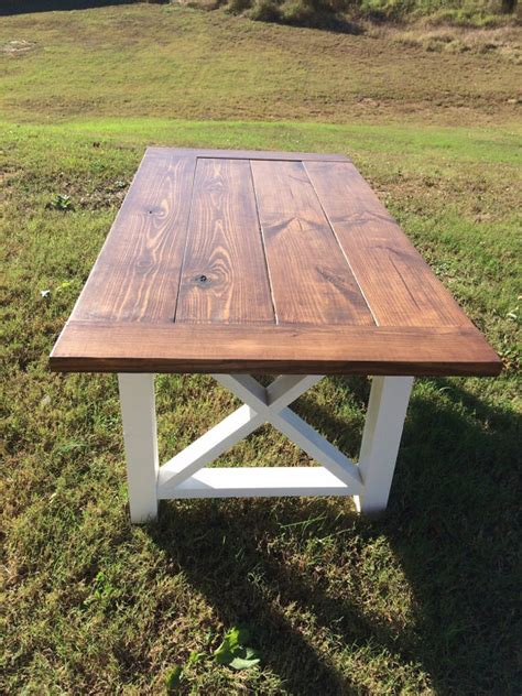 outdoor farm table and bench farmhouse table farm table and bench by