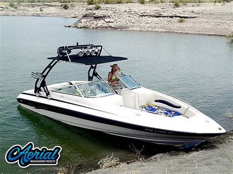 bimini top for reinell boat reinell wakeboard tower gallery