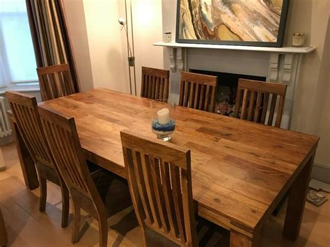 large john lewis dining room table   chairs