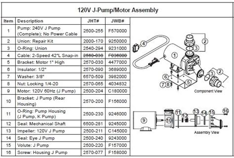 dimension one spa parts diagram spa wear ring for j the spa works