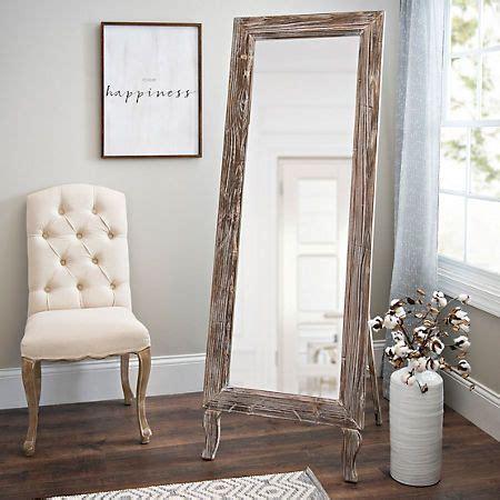 Distressed Farmhouse Floor Mirror For Sale - best 25 length floor mirror ideas on