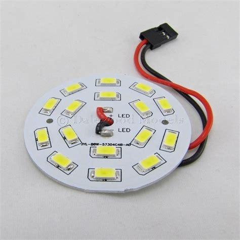 circular led light white 16 led circular light board with lead 3s 9 12v