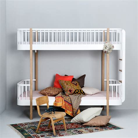 childrens bunk beds white childrens luxury bunk bed in white oak bunk beds