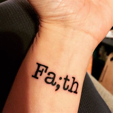 hope tattoo 30 amazing faith designs meanings 2018