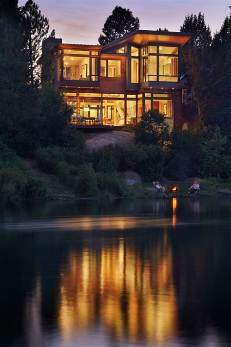 architects bend oregon a house on the deschutes river in bend oregon design milk