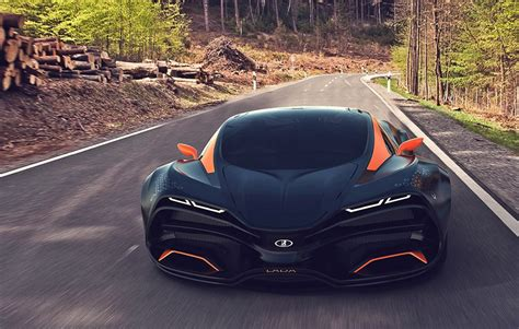 lada supercar lada unleashes its supercar concept lada wow amazing