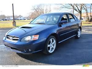 2005 Subaru Legacy 2 5 I Specs 2005 Regal Blue Pearl Subaru Legacy 2 5 Gt Sedan 74095711