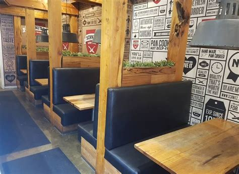 Kickers Kalong Brown Leather 203 booth banquette seating solutions