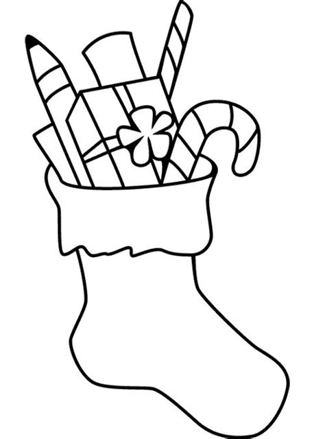 christmas stocking coloring page christmas pinterest