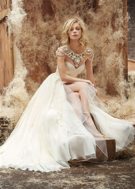stunning wedding dresses by hayley all for fashion
