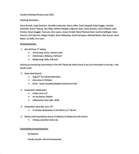 meeting note template meeting notes template 28 free word pdf documents free premium templates