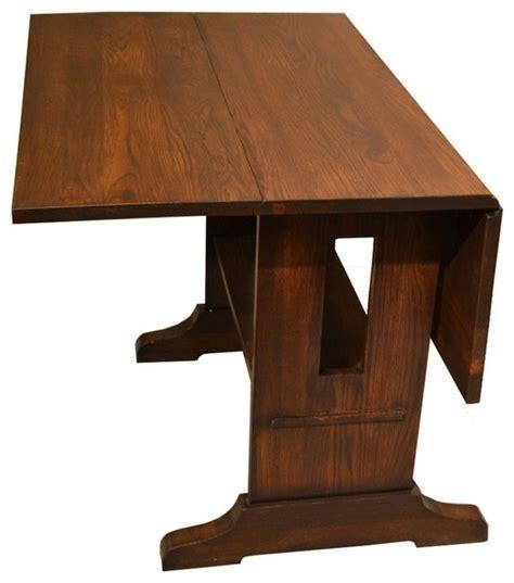 mission oak dining table mission drop leaf oak dining table craftsman dining