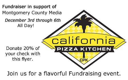 california pizza kitchen fundraiser montgomery community