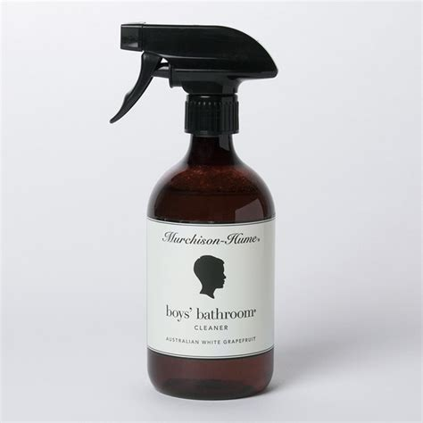 murchison hume boys bathroom cleaner murchison hume 17oz boys bathroom cleaner remodelista