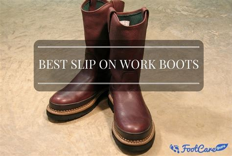 best slip on work boots best slip on work boots pull on work boots buyer s