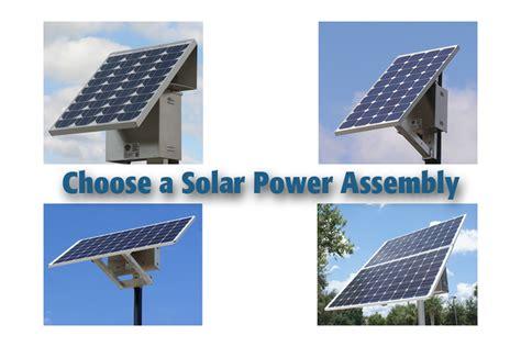 solar lighting design guide determine power assembly