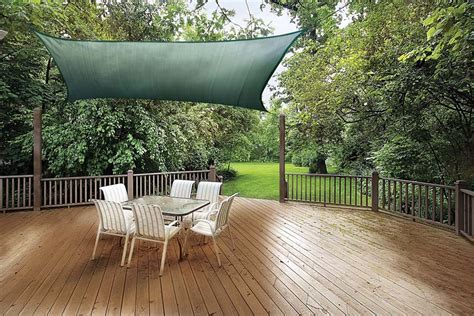 deck shades awning how to add shade to your deck