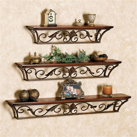 wall decor shelves decorative modern wall shelves recycled things