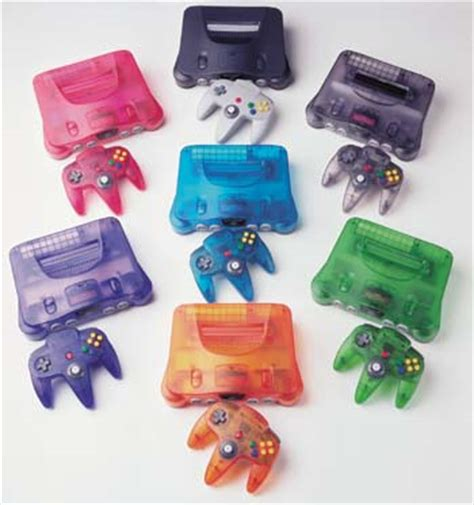 nintendo 64 colors videojuegos