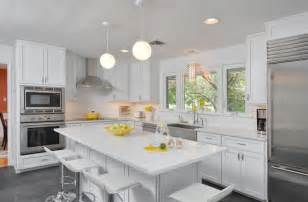 White Quartz Kitchen Countertops White Kitchen Design With A Quartz Countertop Home Decorating Trends Homedit