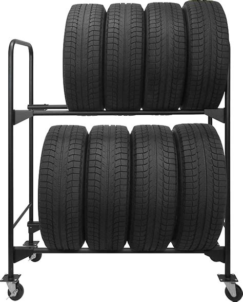 Mobile Tire Rack by Mobile Tire Rack Cosmecol