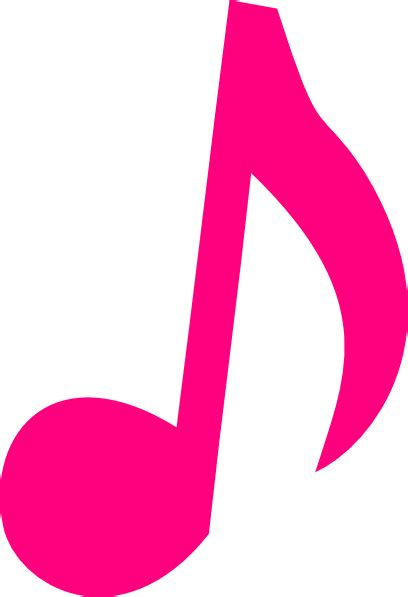 clipart note musicali pink notes clip pink note clip