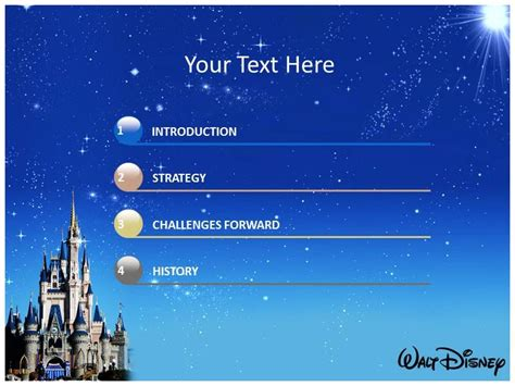 Disney Powerpoint Template Best Business Template Disney Powerpoint Template Free
