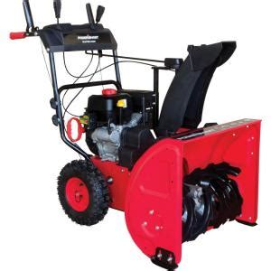 powersmart 24 in 212cc 2 stage gas snow blower db765124