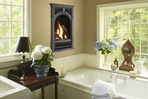 fireplace in bathroom bathroom with fireplace peenmedia com