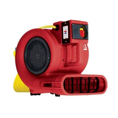 b air low 2700 cfm chainable air mover floor