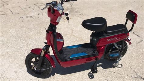 bimde satilan elektrikli bisiklet volta youtube