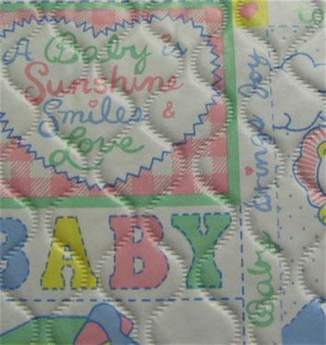Quilted Baby Fabric by Quilted Baby Vinyl