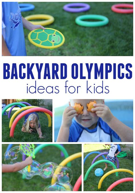 backyard olympic games for kids 4 awesome backyard olympics ideas for kids melissa