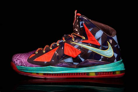 lebron james shoes nike marks lebron james s mvp title with the lebron x mvp