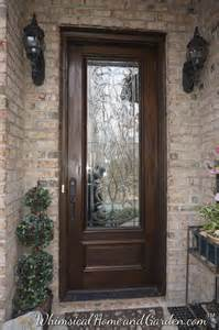 Exterior Entry Doors With Glass Leaded Beveled Glass Front Entry Door