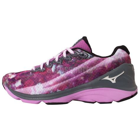 mizuno prima cantabile 3 w tie dye print pink grey womens running shoes ebay