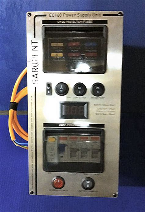 silver digital sargent ec power supply unit