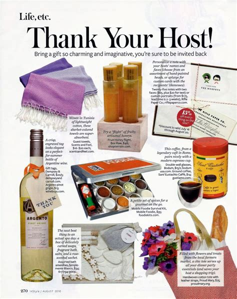gifts for the host hostess gift ideas dressed to a t
