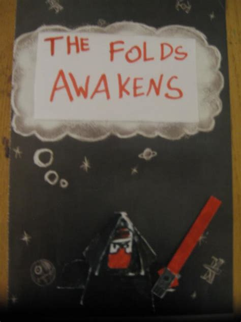 Origami Yoda New Book - the folds awakens wars 7 sith origami yoda
