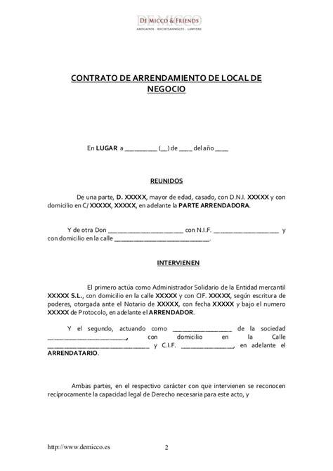 subida de contratos de arrendamientos en 2016 contrato de arrendamiento comercial 2016