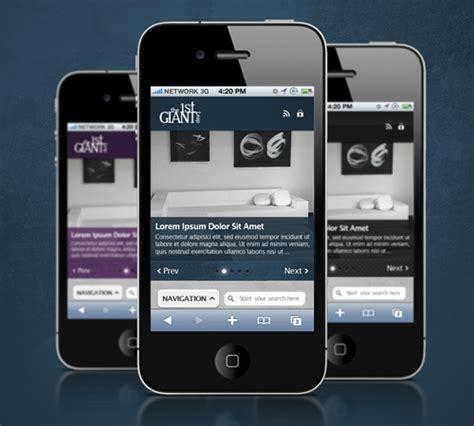 mobile themes unique creative premium mobile wordpress themes