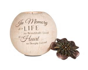 bereavement gifts light your way memory candle