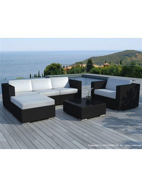 Table De Jardin Leclerc 1050 by Salon De Jardin En R 233 Sine Tress 233 E Ensemble Copacabana