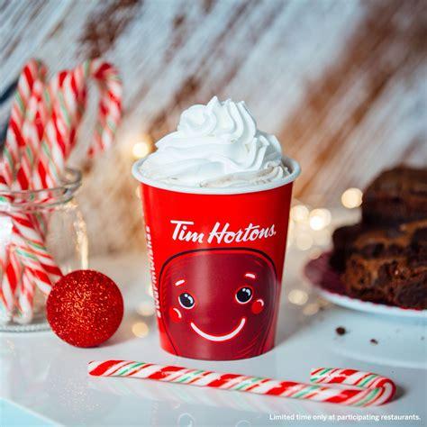 frozen hot chocolate tim hortons