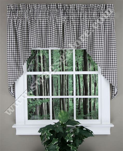 Marburn Kitchen Curtains Nancy S Nook By Set Of 2 Lined Swags Jabot Curtain Sets Jabot Swag