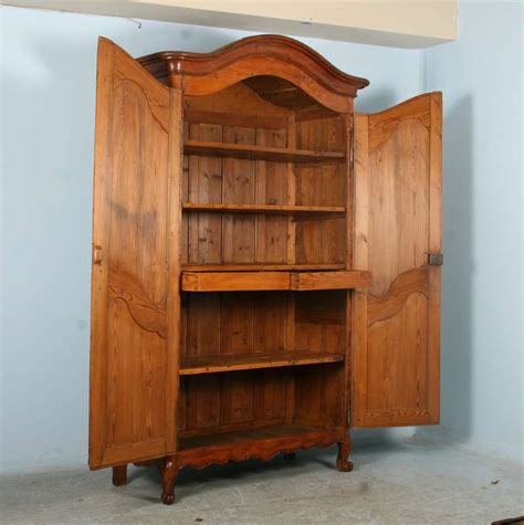 pine armoire for sale antique tall french pine armoire circa 1770 1800 for sale
