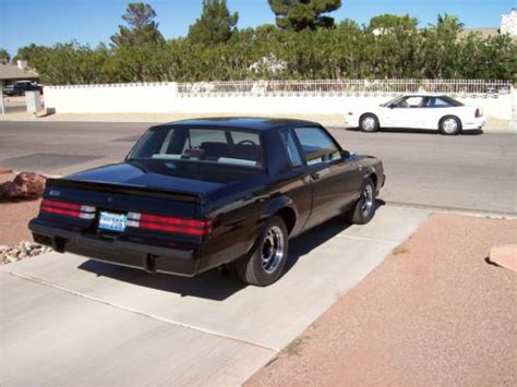 las vegas buick tires sell used 1987 buick grand national 10444 original