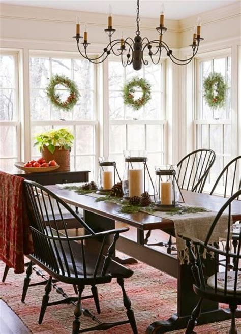 colonial home decorating colonial christmas decor ideas