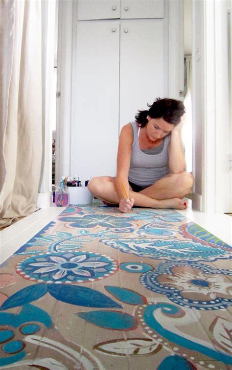 painted floor ideas alisaburke painted wood floor